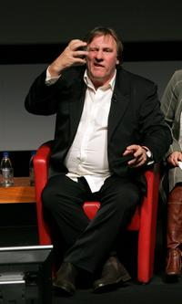 Gerard Depardieu at the 2nd Rome Film Festival.