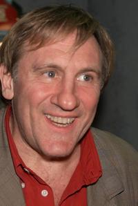 Gerard Depardieu at the New York screening of