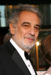 Placido Domingo at the Metropolitan Opera's Opening Night.