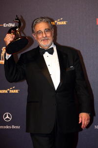 Placido Domingo at the Bambi Awards 2008.