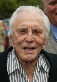 Kirk Douglas at the Palm Springs International Film Society's Film Festival.