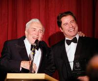 Kirk Douglas and John Travolta at the Santa Barbara International Film Festival.