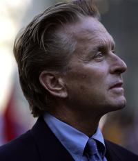Michael Douglas at the 61st United Nations General Assembly.