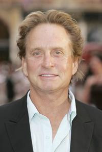 Michael Douglas at the UK premiere of