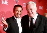 Robert Downey Jr. and Robert Downey, Sr. at the TIME's 100 Most Influential People Gala.