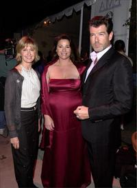 Pierce Brosnan, Keely Shaye Smith and Olivia Newton-John at the Tenth Annual Environmental Media Awards.