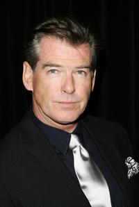 Pierce Brosnan at the New York opening night of