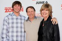 Dennis Dugan and his Guests at the premiere of