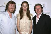 David Holmes, Jean Butler and Adrian Dunbar at the Oscar Wilde: Honoring Irish Writing in Film.