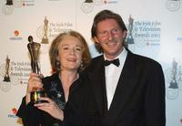 Ruth McCabe and Adrian Dunbar at the Irish Film and Television Awards.