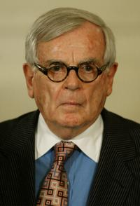 Dominick Dunne at the Presidential Medal of Freedom ceremony.