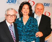 Dominick Dunne, Jolene Schlatter and Producer George Schlatter at the Juvenile Diabetes 4th Annual Gala Event.