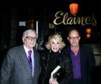 Dominick Dunne, Joan Rivers and Billy Norwich at the launch of Linda Bruckheimer's latest novel.