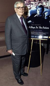Dominick Dunne at the screening of