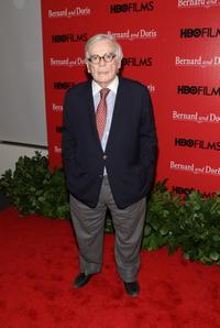 Dominick Dunne at the premiere of