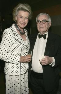 Dina Merrill and Dominick Dunne at the 80th Birthday Party For Bobby Short.