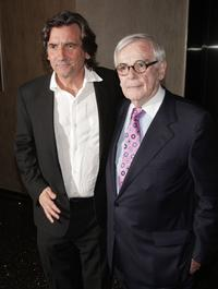 Griffin Dunne and Dominick Dunne at the Los Angeles premiere of