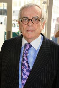 Dominick Dunne at the Olympus Fashion Week Spring 2007.