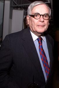 Dominick Dunne at the Miramax Films' pre-Oscar party.