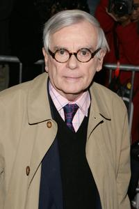 Dominick Dunne at the world premiere of