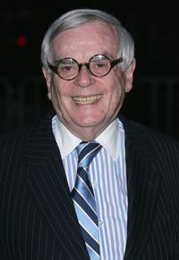 Dominick Dunne at the Vanity Fair party during the Tribeca Film Festival.