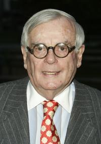 Dominick Dunne at the Vanity Fair Party during the 2004 Tribeca Film Festival.