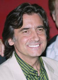 Griffin Dunne at the cocktail reception prior to viewing the