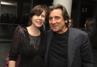 Polly Cohen and Griffin Dunne at the screening of