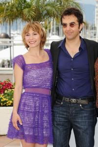 Dinara Droukarova and Atom Egoyan at the photocall of