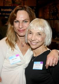 Sarah Elgart and Tamar Hoffs at the AFI luncheon honoring Jean Picker Firstenberg.