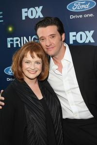 Blair Brown and Jason Butler Harner at the series premiere party of