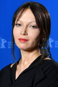 Elena Okopnaya at the award winners photo call during the 68th Berlinale International Film Festival.