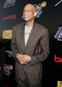Kareem Abdul-Jabbar at the Los Angeles Lakers 3rd Annual Mirage Las Vegas Casino Night and Bodog Celebrity Poker Invitational benefiting Los Angeles Lakers Youth Foundation.