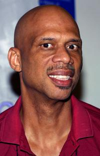 Kareem Abdul Jabaar at the Annenberg Foundation Youth I. N. C. Net Gain 2003 Celebrity Basketball Game.