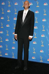 Kareem Abdul Jabar at the 58th Annual Primetime Emmy Awards.