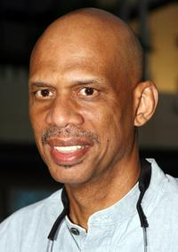 Kareem Abdul-Jabbar at the premiere of