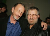 Robert Englund and director Tobe Hooper at the party to celebrate Showtime's series