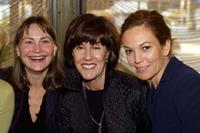 Nora Ephron, Cherry Jones and Diane Lane at New York Film Critics Circle Award.