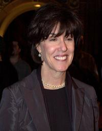 Nora Ephron at the premiere of