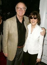 Nora Ephron and Nick Pileggi at the opening night of