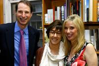 Nora Ephron, Senator Ron Wyden and Nancy Bass Wyden at the Publisher Weeklys celebration party.