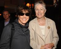 Nora Ephron and Lynn Redgrave at a lunch in honor of