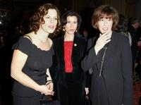 Nora Ephron, Marcia Gay Harden and Katherine Oliver at the 55th Annual Writers Guild of America Awards.