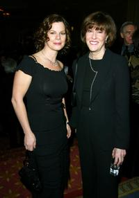 Nora Ephron and Marcia Gay Harden at the 55th Annual Writers Guild of America Awards.