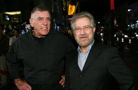 R. Lee Ermey and producer Tobe Hooper at the premiere of