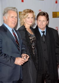 Martin Sheen, Sonja Magdevski and Emilio Estevez at the 12th Annual Critics' Choice Awards.