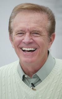 Bob Eubanks at the Just Married Obstacle Course Competition.