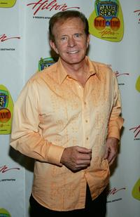 Bob Eubanks at the American TV Game Show Hall of Fame induction ceremony.