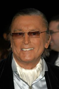 Robert Evans arrives at The Clive Davis Pre-Grammy Party.