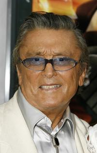 Robert Evans at the premiere of the